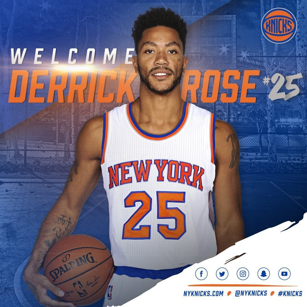 Derrick Rose Wallpaper Knicks